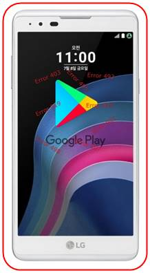 LG X5 Google Play Store sorunları
