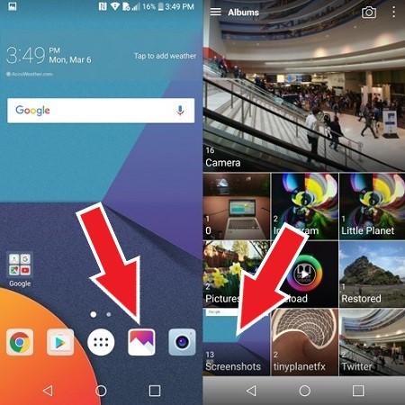 LG ekran görüntüsü alma