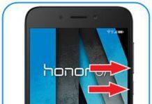 Huawei Honor 6A güvenli mod
