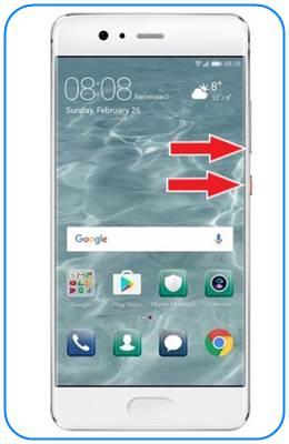 Huawei P10 güvenli mod