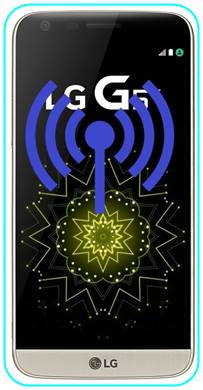 LG G5 SE WiFi hotspot