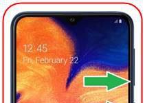 Samsung Galaxy A10 ekran görüntüsü