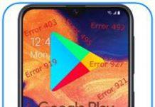 Samsung Galaxy A10e Google Play hataları