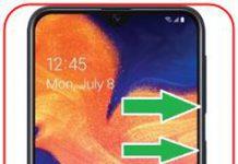 Samsung Galaxy A10e ekran görüntüsü