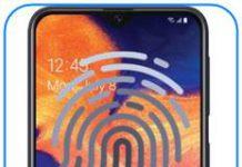 Samsung Galaxy A10e parmak izi ekleme