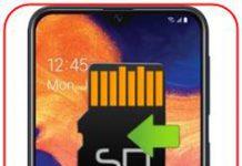 Samsung Galaxy A10e uygulamaları SD kartına taşıma