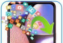Samsung Galaxy A10s veri yedekleme