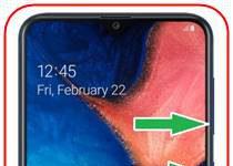 Samsung Galaxy A20 ekran görüntüsü