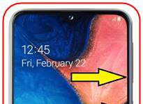 Samsung Galaxy A20e ekran görüntüsü