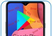 Samsung Galaxy A20s Google Play hataları