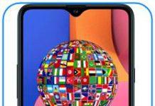 Samsung Galaxy A20s dil değiştirme