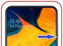 Samsung Galaxy A30 ekran görüntüsü
