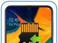 Samsung Galaxy A30 uygulamaları SD kartına taşıma