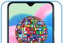 Samsung Galaxy A30s dil değiştirme