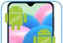 Samsung Galaxy A30s kodlar