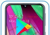 Samsung Galaxy A40 Google Play hataları