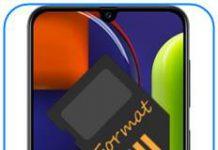 Samsung Galaxy A50s SD kart biçimlendirme