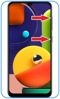 Samsung Galaxy A50s format