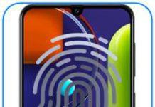 Samsung Galaxy A50s parmak izi ekleme