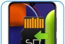 Samsung Galaxy A50s uygulamaları SD kartına taşıma