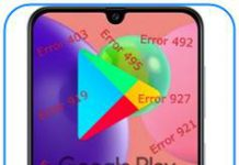 Samsung Galaxy A70s Google Play hataları