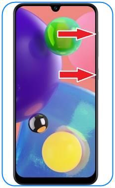 Samsung Galaxy A70s format