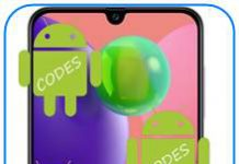 Samsung Galaxy A70s kodlar