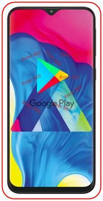 Samsung Galaxy M10 Google Play hataları