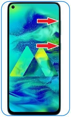 Samsung Galaxy M40 format