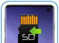 Samsung Galaxy S10 uygulamaları SD kartına taşıma
