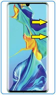 Huawei P30 Pro format