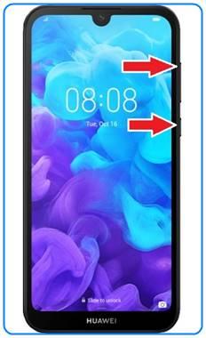 Huawei Y5 2019 format atma