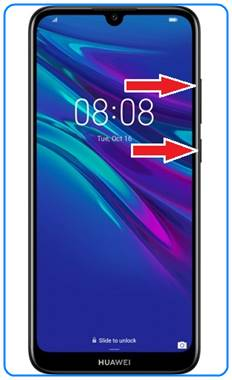 Huawei Y6 2019 format