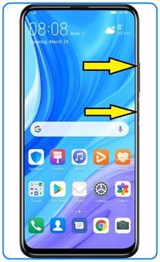 Huawei Y9s format