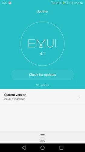 Huawei güncelleme