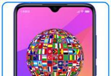 Xiaomi Mi 9 Lite dil değiştirme