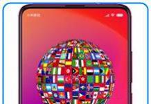 Xiaomi Mi 9T dil değiştirme