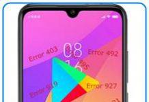 Xiaomi Mi CC9e Google Play hataları