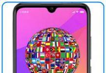 Xiaomi Mi CC9e dil değiştirme