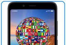 Xiaomi Redmi 7A dil değiştirme