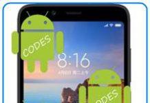 Xiaomi Redmi 7A kodlar