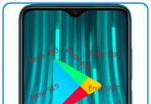 Xiaomi Redmi Note 8 Pro Google Play hataları