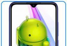 Xiaomi Redmi Note 8T Android sürümü