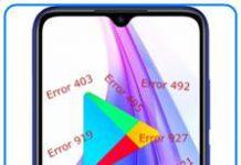 Xiaomi Redmi Note 8T Google Play hataları