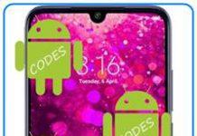 Xiaomi Redmi Y3 kodlar