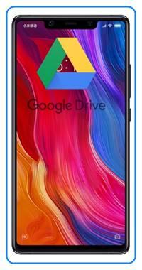 Xiaomi Mi 8 SE dosyaları Google Drive'a yedekleme