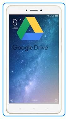 Xiaomi Mi Max 2 dosyaları Google Drive'a yedekleme