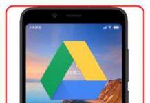 Xiaomi Redmi 7A dosyaları Google Drive'a yedekleme