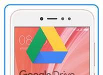 Xiaomi Redmi Note 5A Prime dosyaları Google Drive'a yedekleme