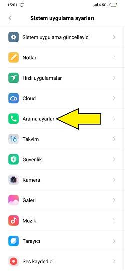 Xiaomi Numara Gizleme